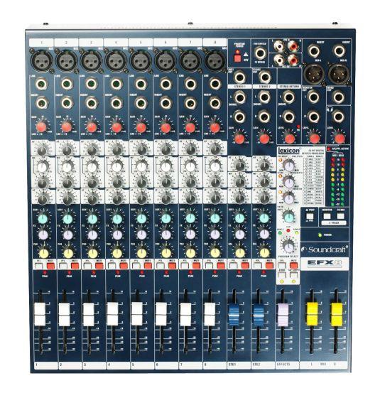 Soundcraft EFX8 Lexicon Effects Mixer