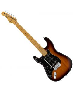 G&L Tribute S-500 Left-Handed Electric Guitar Tobacco Burst TI-S50-132L24M23
