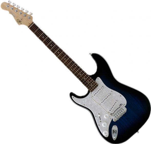 G&L Tribute Legacy Left-Handed Electric Guitar Blueburst