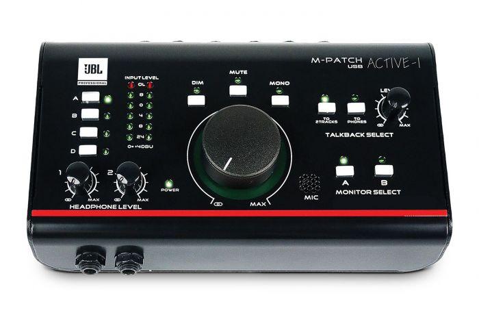 JBL M-Patcg Active-1 Precision Monitor Control Plus Studio Talkback and USB I/O
