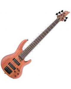 ESP LTD B-1005SE Bubinga Top Electric Bass in Natural Satin B-Stock LB1005SEBNS.B