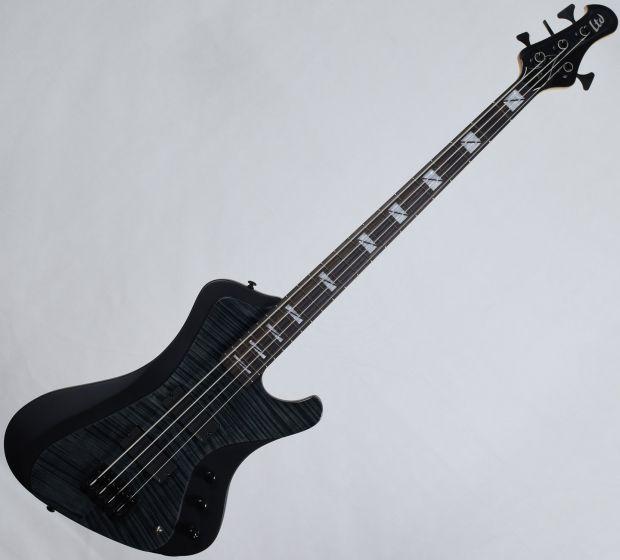 ESP LTD John Campbell JC-4FM Signature Electric Bass See Thru Black Satin Sides B-Stock