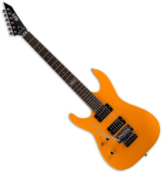 ESP LTD M-50FR Left-Handed Electric Guitar Neon Orange