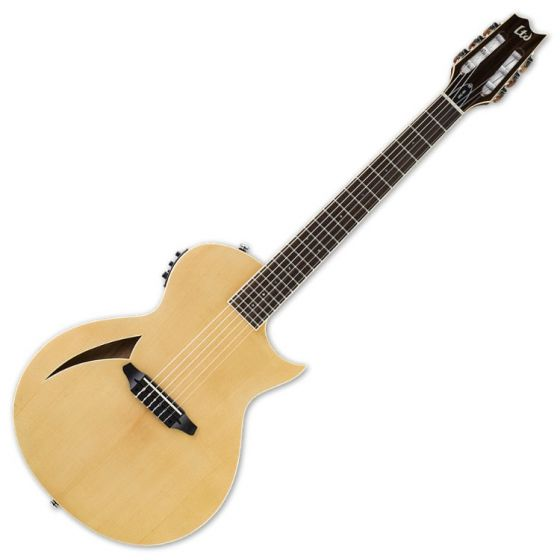 ESP LTD TL-6N Nylon String Acoustic Electric Guitar in Natural Finish B-Stock
