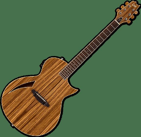 ESP LTD TL-6Z Acoustic Electric Guitar in Natural B-Stock