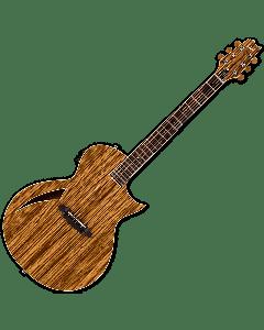 ESP LTD TL-6Z Acoustic Electric Guitar in Natural B-Stock LTL6ZNAT.B