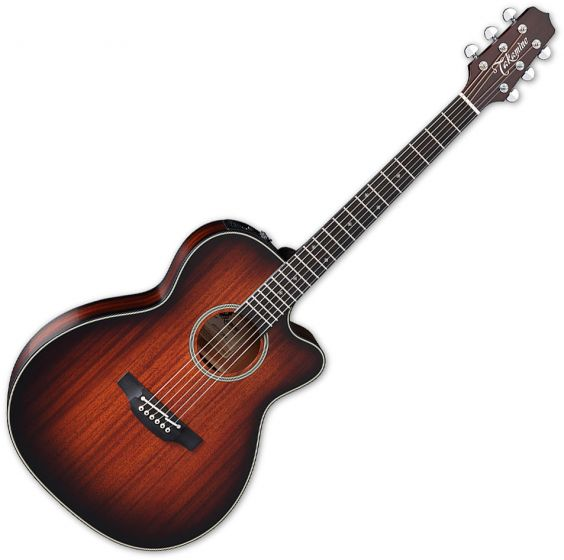 Takamine CP771MC SB OM Cutaway Acoustic Guitar Shadow Burst Satin B-Stock