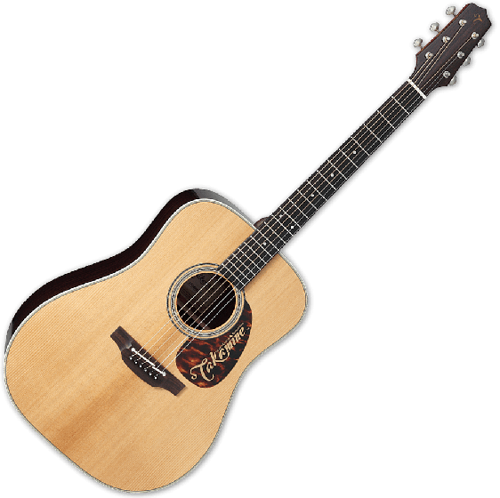 Takamine EF360STT Thermal Top Acoustic Guitar in Natural Finish B-Stock