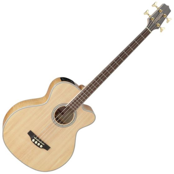 Takamine GB72CE-NAT G-Series Acoustic Electric Bass Natural B-Stock