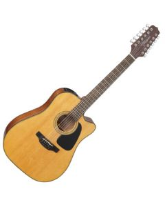 Takamine GD30CE-12NAT G-Series G30 12 String Acoustic Electric Guitar Natural B-Stock TAKGD30CE12NAT.B