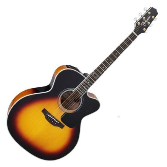 Takamine P6JC BSB Pro Series 6 Cutaway Acoustic Guitar Brown Sunburst B-Stock