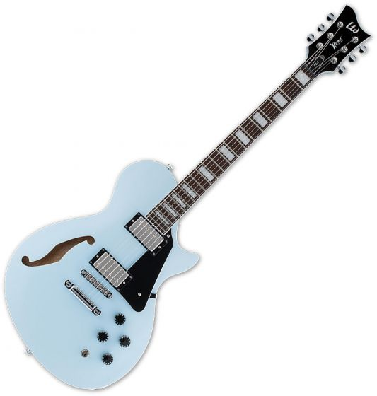 ESP LTD PS-1 Semi-Hollow Electric Guitar Sonic Blue B-Stock