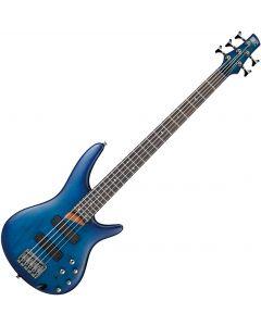 Ibanez SR Standard SR505 Electric Bass Sapphire Blue Flat SR505SBF