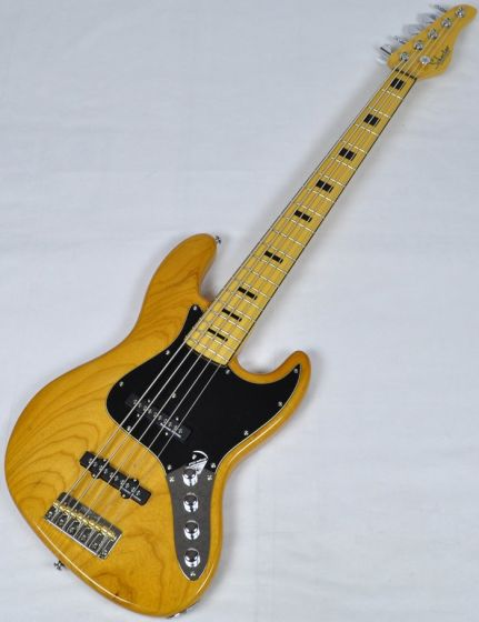 Schecter Diamond-J 5 Plus Electric Bass in Aged Natural