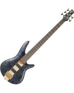 Ibanez SR Standard SR805 5 String Electric Bass Deep Twilight Flat SR805DTF