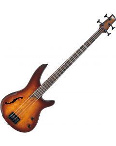 Ibanez SR Bass Workshop SRH500 Semi-Hollow Electric Bass Dragon Eye Burst Flat SRH500DEF