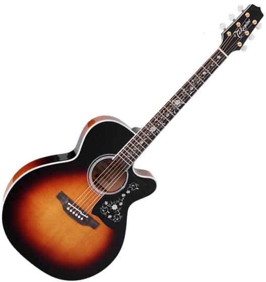 Takamine EF450C-TT NEX Acoustic Guitar Brown Sunburst B-Stock