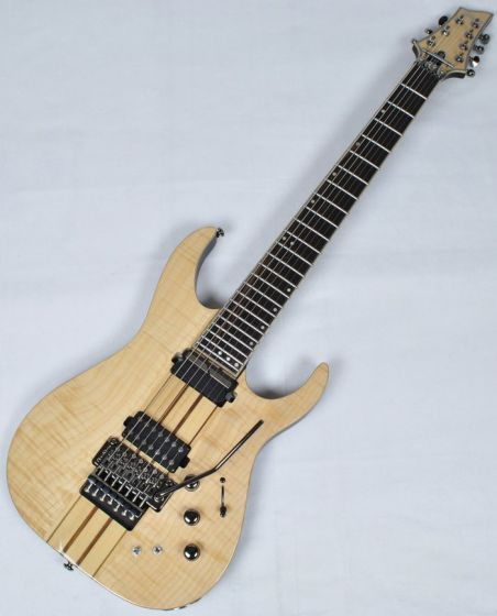 Schecter Banshee Elite-7 FR S Electric Guitar in Gloss Natural