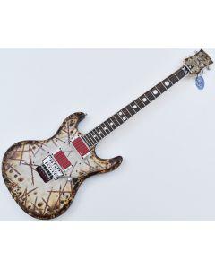 ESP E-II Richard Z RZK-I Burnt Electric Guitar with Case EIIRZK1