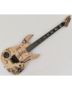 ESP KH-Ouija Kirk Hammett Japan Signature Guitar in Natural with Case EKHOUIJA