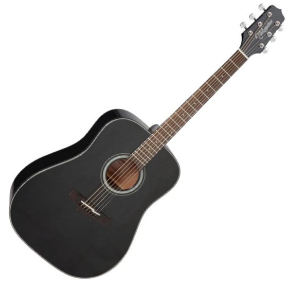 Takamine GD30-BLK G-Series G30 Acoustic Guitar in Black Finish