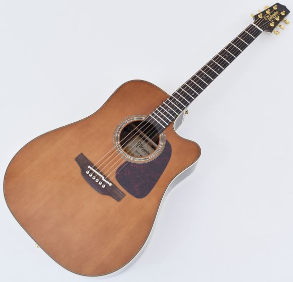 Takamine P5DC-WB Dreadnought Acoustic Electric Guitar Whiskey Brown B-Stock