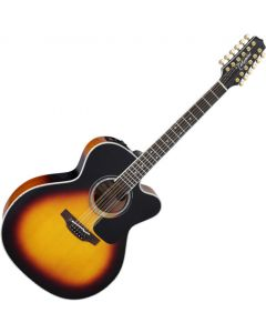 Takamine P6JC-12 Jumbo 12-String Acoustic Electric Guitar Brown Sunburst B-Stock TAKP6JC12BSB.B
