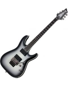 Schecter Jake Pitts C-1 FR Signature Electric Guitar Metallic White/Black Burst SCHECTER254