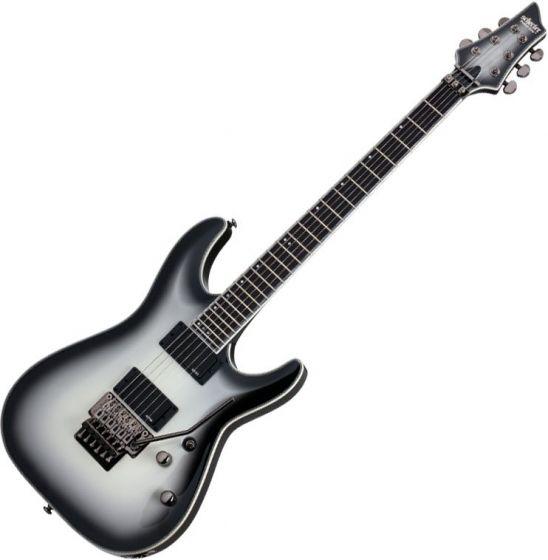 Schecter Jake Pitts C-1 FR Signature Electric Guitar Metallic White/Black Burst
