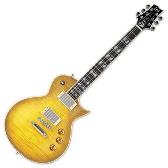 ESP LTD Alex Skolnick AS-1 FM Lemon Burst Signature Electric Guitar