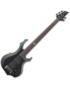 ESP LTD F-415FM Electric Bass See-Through Black B-Stock LF415FMSTBLK.B