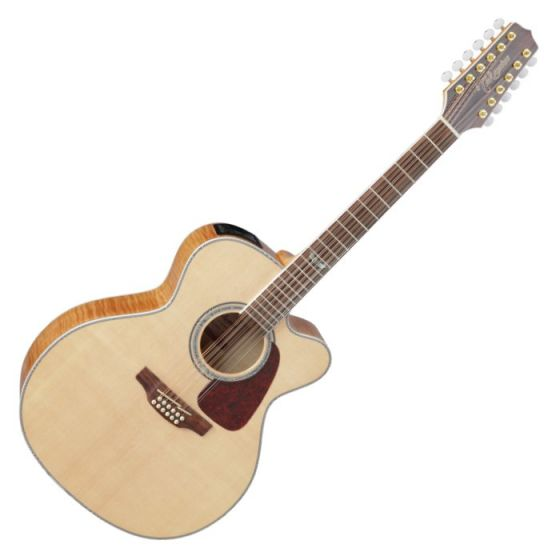 Takamine GJ72CE-12NAT G-Series G70 12 String Acoustic Guitar in Natural Finish
