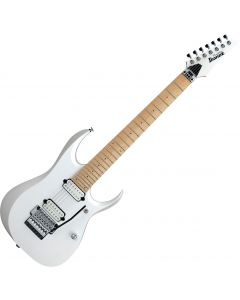 Ibanez RGD Prestige RGD3127PWF 7 String Electric Guitar Pearl White Flat RGD3127PWF