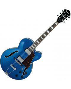 Ibanez AF Artcore AF75FMTBL Electric Guitar Transparent Blue AF75FMTBL