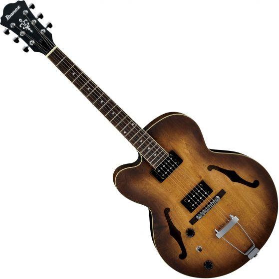 Ibanez AF Artcore AF55LTF Left-Handed Electric Guitar Tobacco Flat