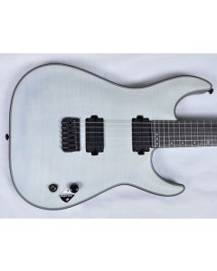 Schecter KM-6 Keith Merrow Electric Guitar Trans White Satin USED