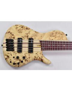 Ibanez SR Bass Workshop SRSC805 5 String Electric Bass Natural Flat MINT