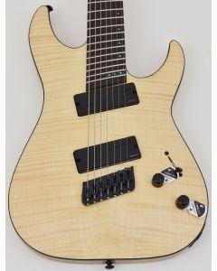 Schecter C-7 Multiscale SLS Elite Electric Guitar Gloss Natural