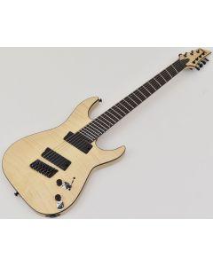Schecter C-7 Multiscale SLS Elite Electric Guitar Gloss Natural SCHECTER1366
