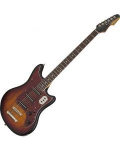 Schecter Hellcat-VI Electric Guitar 3-Tone Sunburst Pearl SCHECTER293