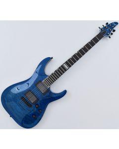 ESP USA Horizon Electric Guitar in See Thru Blue EUSHORSTB