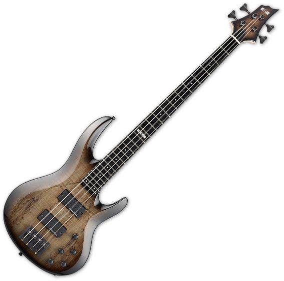 ESP E-II BTL-4 Electric Bass Black Natural Burst