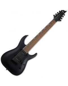 ESP LTD H-408B Electric Guitar Black Satin LH408BBLKS