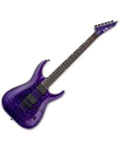 ESP LTD MH-1000NT Electric Guitar See Thru Purple LMH1000NTQMSTP