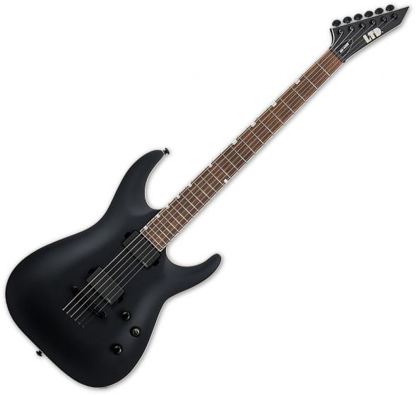 ESP LTD MH-400B Electric Guitar Black Satin