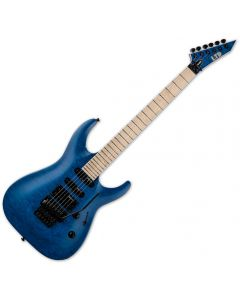 ESP LTD MH-203QM Electric Guitar See Thru Blue LMH203QMSTB
