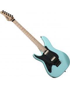 Schecter Sun Valley Super Shredder FR Left-Handed Electric Guitar Sea Foam Green SCHECTER1286