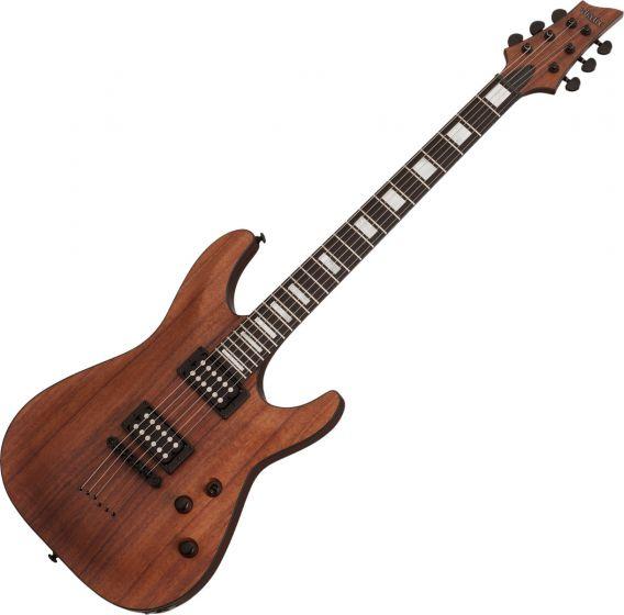 Schecter C-1 Koa Electric Guitar Natural Satin