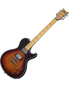 Schecter Hellraiser Extreme Solo-6 M Electric Guitar 3-Tone Satin Sunburst SCHECTER1882.B