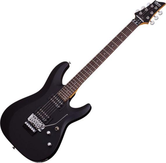 Schecter C-6 FR Deluxe Electric Guitar Satin Black